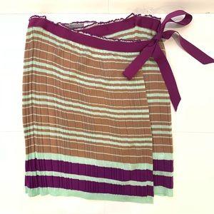 MISSONI Wool Wrap Skirt Sz 42